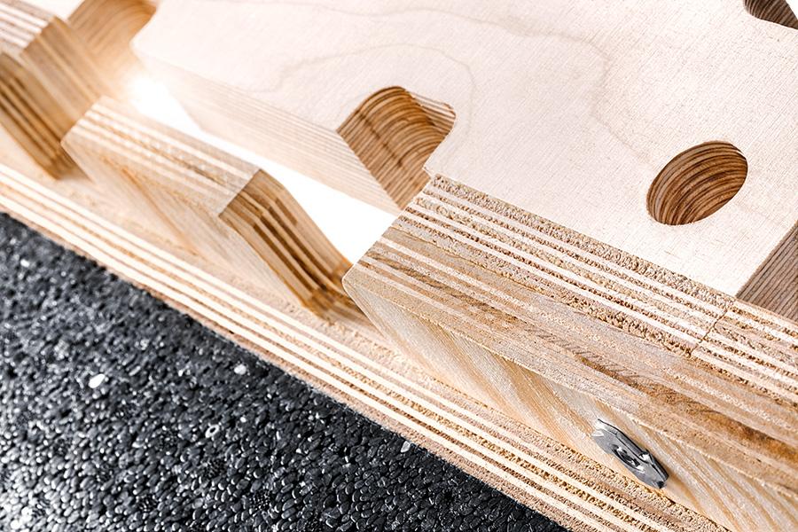 Maßgefertigte Verpackungssysteme aus Holz