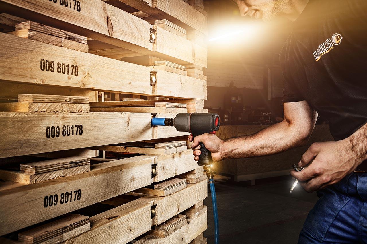 Maßgeschneiderte Transportlösungen aus Holz