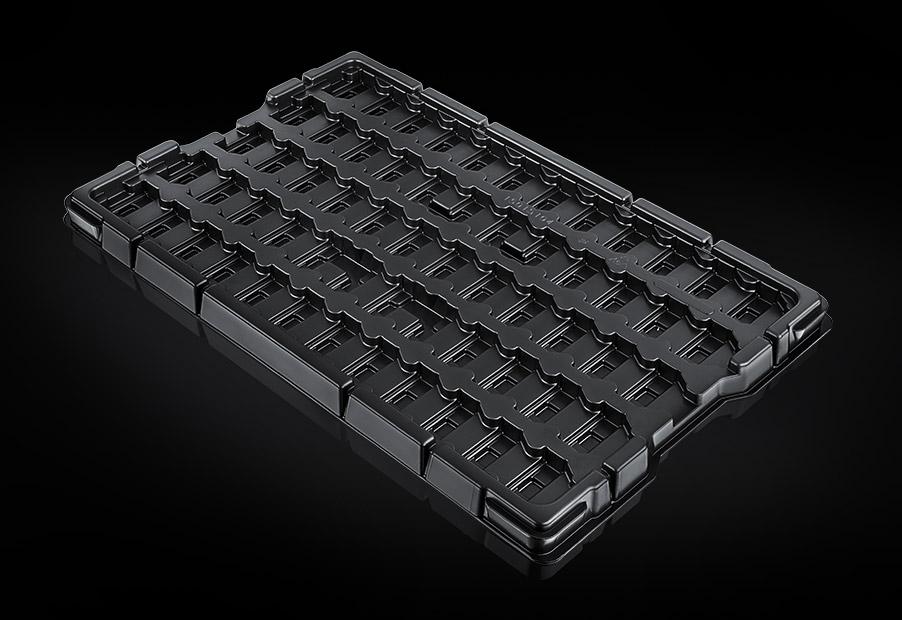 Werkstückträger / KLT-Inlays aus Kunststoff