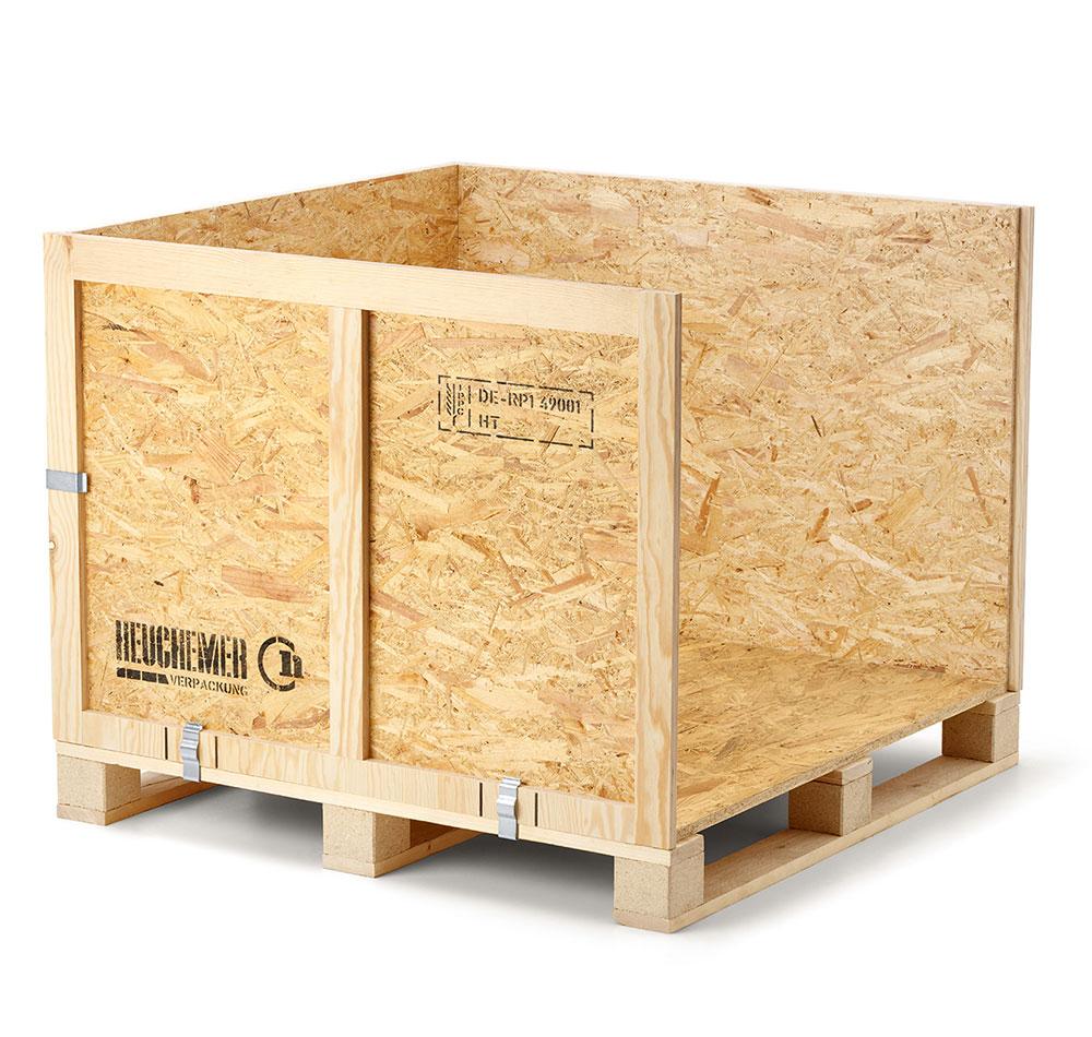 Transportkiste aus Holz