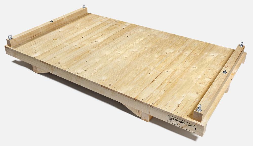 Transportböden aus Holz
