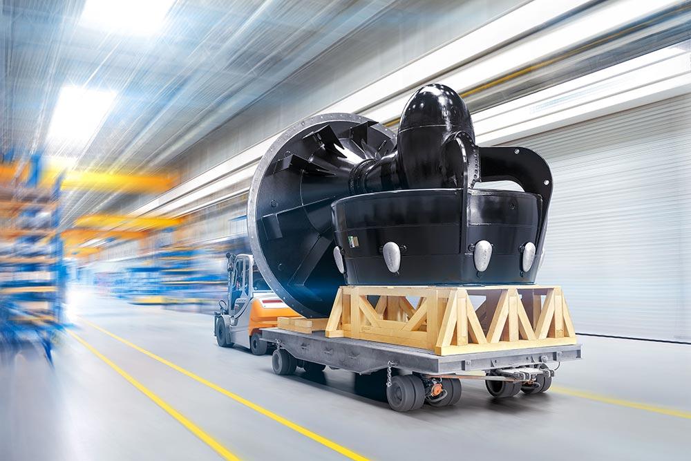 Spezial-Transportgestell aus Holz
