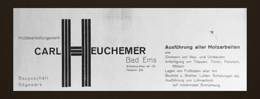 HEUCHEMER VERPACKUNG || Werbung 1926