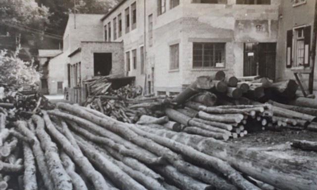 Heuchemer Verpackung 1949