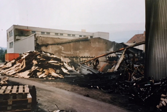 HEUCHEMER VERPACKUNG || Brand in Bad Ems - 1987